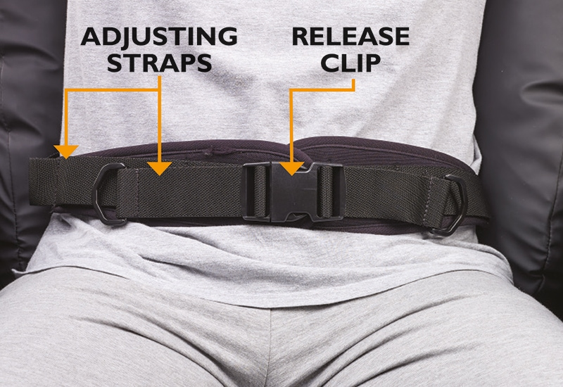 Brookly Lap Strap And Pad