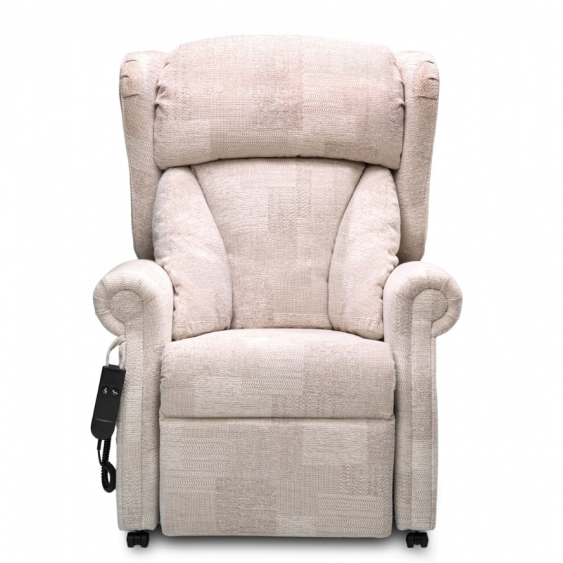 Front view of the Chepstow Riser Recliner Chair