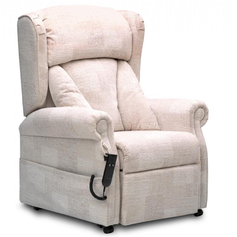 Chepstow riser recliner side view