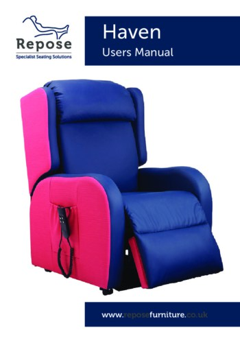Haven User Manual 2019 pdf Repose Furniture Haven