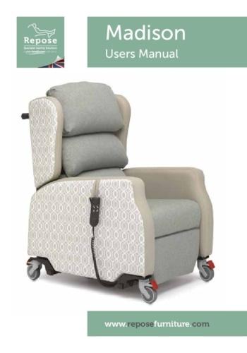 Madison User Manual pdf Repose Furniture Madison