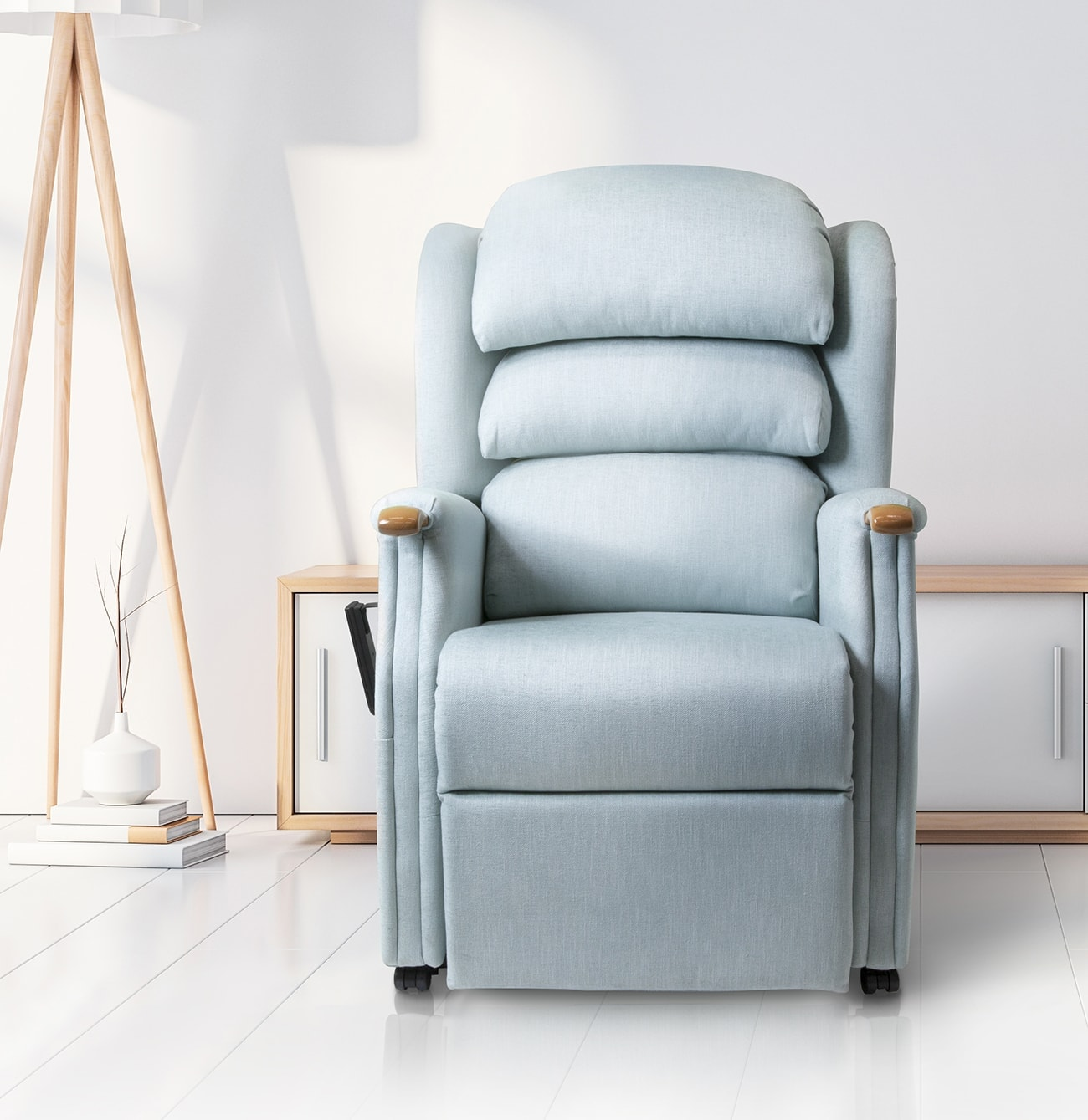 The New Repose Furniture Henley Rise And Recline Chair