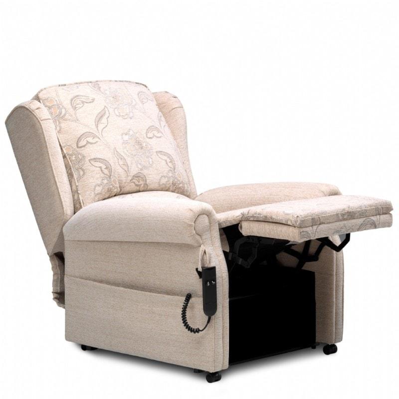 Westbury Riser Recliner Chair full recline