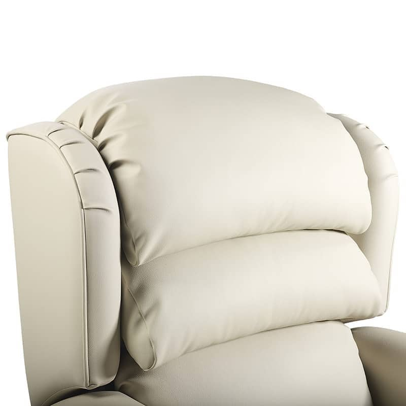 Olympia Recliner Wing Close Up Master Satin