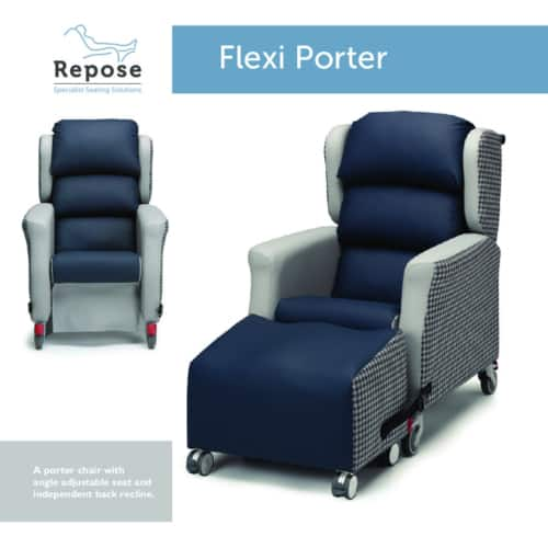 Flexi Porter Card pdf Repose Furniture Downloads and Brochure Request