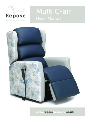 Multi C Air User Manual pdf Repose Furniture Downloads and Brochure Request