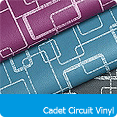 Cadet Circuit Vinyl Fabrics