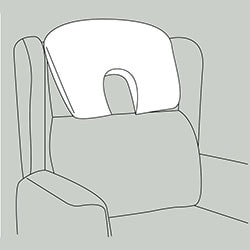 large profile headrest Repose Furniture Haven