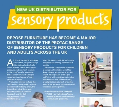 Sensory Products In Magazine Article 500