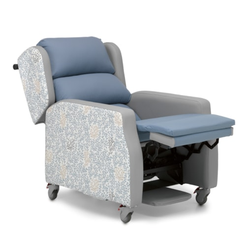 Brooklyn Recline Raised Footrest Semi Reclined
