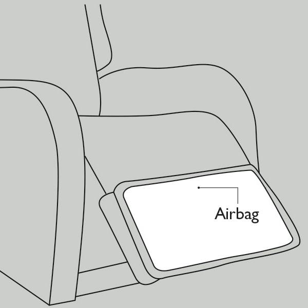 Haven Footrest Airbag
