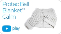 calm video link Repose Furniture Protac Ball Blanket