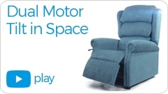 dual motor tilt in space Repose Furniture Kingston