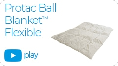 flexible video link Repose Furniture Protac Ball Blanket