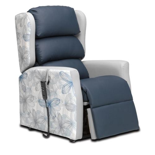 Multi C-air Leg Rest Partially Open