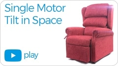 single motor tilt in space Repose Furniture Kingston
