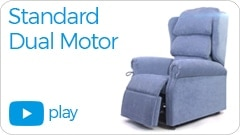 standard dual motor Repose Furniture Kingston