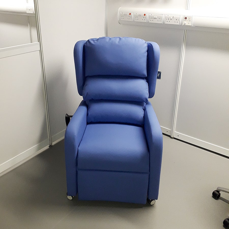 New Finished Chair In Place On The Ward