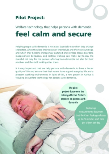 Calming helping aids for users with dementia pdf Repose Furniture Documents and Case Studies