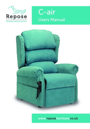 C Air User Manual pdf Repose Furniture User Manuals