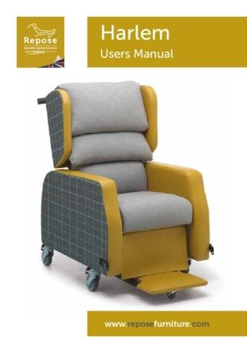 Harlem User Manual 2021 pdf Repose Furniture Harlem Porter