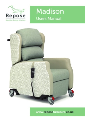 Madison User Manual pdf Repose Furniture User Manuals