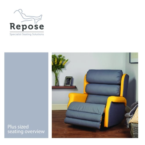 Plus sized seating – overview pdf Repose Furniture Downloads and Brochure Request