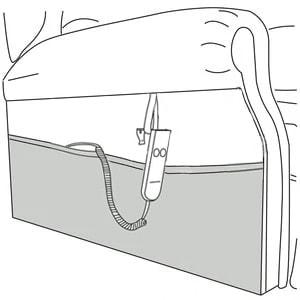 Repose Recliner Side Pocket For Storage
