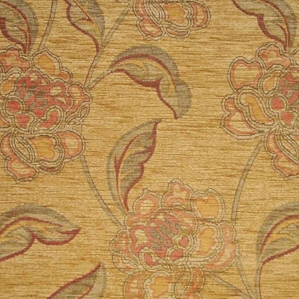 gold 8 Repose Furniture Maida Vale Floral Gold