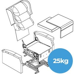 25kg Single Person Carry Exploded View