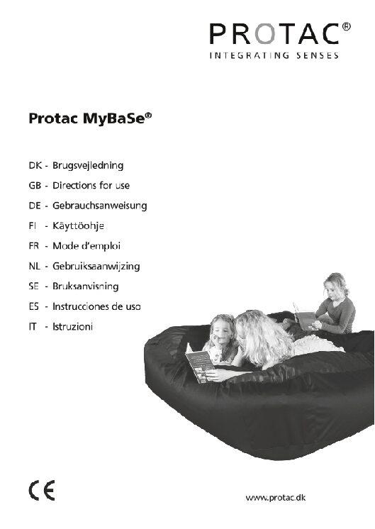 Protac MyBaSe User Manual pdf Repose Furniture Protac MyBase®